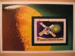 MALAGASY MADAGASCAR Tananarive 1976 Operatian Viking Sur Mars Marte Space Spacecraft Vaisseau Spatial Sonda Espacial