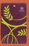 HOTEL KEY CARD - (  U.K. )  SHERATON HOTEL - - Hotel Keycards
