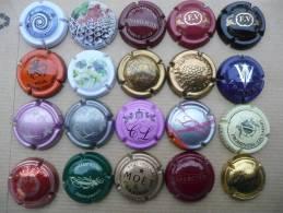 Lot De 20 Capsules Liquidation - Champagnerdeckel