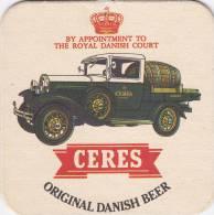 SOUS BOCK CERES  DANISH BEER - Sous-bocks