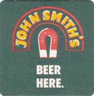 SOUS BOCK JOHN SMITH - Beer Mats