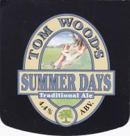 SOUS BOCK TOM WOODS SUMMER DAYS - Sous-bocks