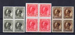 Léopold III, 401 / 403** En #, Cote 52 €, - 1934-1935 Leopold III
