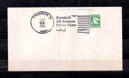 ESTADOS UNIDOS, SOBRE CONMEMORATIVO, 1985,EVANSTON, IL, ALL SEASONS HOME SHOW - Event Covers