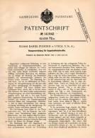 Original Patentschrift - E. Fulford In Utica , USA , 1902 , Abzug Für Schußwaffen , Waffen , Gewehr , Pistol !!! - Documents