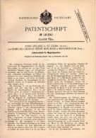 Original Patentschrift - E. Bingham In Broomwood Und St. Kilda , 1901 , Cylinderschloßß Für Gewehre , Gewehr , Waffe !!! - Documents