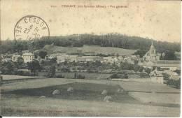 CPA Pernant Vue Générale (légende Rouge) - Other Municipalities