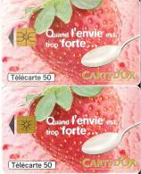 F739 + F739A Carte D'or , Quand L'envie Est Trop Forte...  GEM1A + GEM1B - Frankreich