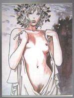Carte Postale Érotique De Milo Manara - Fumetti