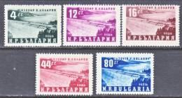 Bulgaria 770-4   * - 1945-59 People's Republic