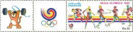 TABLE TENNIS, TENNIS, HOCKEY, BASEBALL, SEOUL OLYMPICS, SPORTS, R10, MNH 1988 - Hockey (sur Gazon)