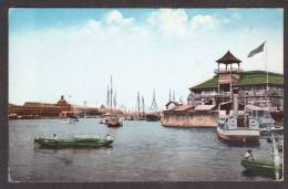 PH18) Pasig River Scene - Fort Santiago On The Right - Filippine