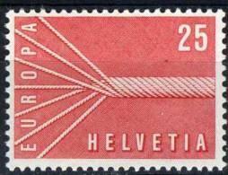 PIA - CEPT - 1957 - SVIZZERA  -  (Yv 595-96) - Europa-CEPT