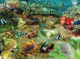 Vanuatu / Marine Life / Shell - Vanuatu (1980-...)