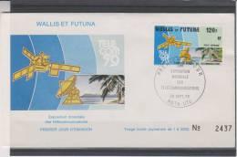 Espace - Télécommunications - Satellites - France - Wallis Et Futuna - Lettre De 1979 - Covers & Documents