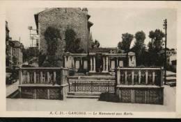 Carte Sépia  A.C.21.  GARCHES.   Le Monument Aux Morts. - Garches