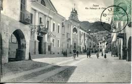 N°24654 -cpa Susa -via Palazzo Di Citto- - Sin Clasificación