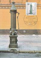 Carte-Maximum ALLEMAGNE BERLIN N°Yvert 650 / Pompe à Eau - [5] Berlin