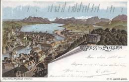 4935 - Gruss Aus Luzern Litho - LU Lucerne