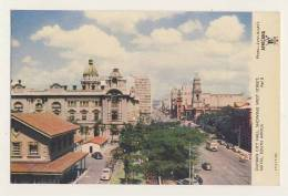 Durban City Hall, Showing West Street, Natal, South Africa - Animated, Bus, Cars - South Africa