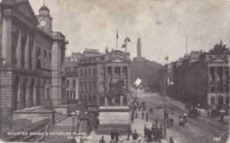 UK - Edinburgh - Register House & Waterloo Place (animation And Soap Advert.) - Midlothian/ Edinburgh