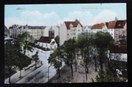 1475 RIXDORF B. Berlin - Richard-Platz Mit Böhm.Kirche 1910 - Rixdorf
