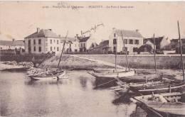 M - Rare Cpa QUIBERON - PORTIVY - Le Port à Basse Mer - Quiberon