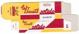SOLIDO - BOITE VIDE  - LANCIA STRATOS - 1979. - Altre Collezioni