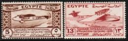 EGYPT   Scott #  172-6*  VF MINT LH - Égypte