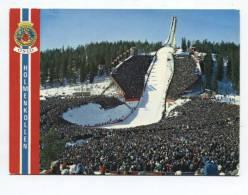 29735  - Norvège     Oslo   Holmenkolmen  Ski Jump - Suède