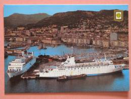 TOULON - Le Port Et Car Ferry Pour La Corse Et La Sardaigne - Toulon