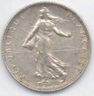 FRANCIA 1 FRANC 1919 AG - Francia