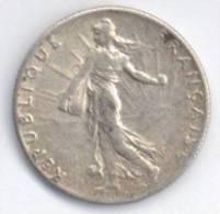 FRANCIA 50 CENTESIMI 1919 AG - Francia