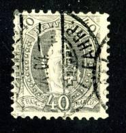 752 )  SWISS 1903  Mi.60YD  Used - 1882-1906 Armoiries, Helvetia Debout & UPU