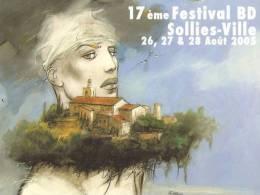 Carte Postale Enki Bilal 17ème Festival Bd Sollies-Ville 26, 27 & 28 Août 2005 - Bandes Dessinées