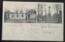 1564 Gruss A. BIEDERITZ B. Magdeburg - Gasthof Zum Deutschen Kaiser 1904 - Magdeburg