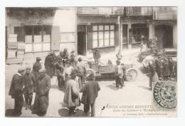 CPA  :63 Rochefort En Montagne  - Automobile : Coupe Gordon Benneti  :   Halte Coureurs  Animation, Voitures - Cartes Postales