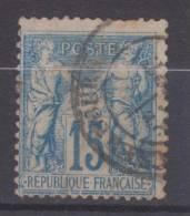 Lot N°19151    N°90, Oblit Cachet à Date A Déchiffrer - 1876-1898 Sage (Type II)