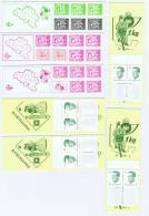 Belgium Collection Of 19 Pieces Stampbooklets, MNH/Neuf** - Booklets 1953-....