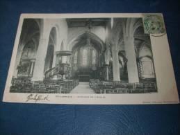 Coulommiers - Interieur De L' Eglise - Précurseur - Lib. Clozier - Circulée 1903 - L102B - Coulommiers