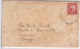 "NEW ZEALAND - 1935 - RARE ENVELOPPE Avec CACHET MARITIME PAQUEBOT RMMS ""AORANGI"" à HONOLULU (HAWAÏ) - Covers & Documents"