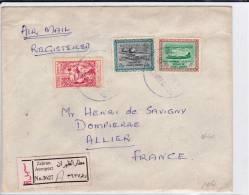 ARABIE SAOUDITE - 1962 - ENVELOPPE RECOMMANDEE De ZAHRAN AEROPORT Pour La FRANCE - Arabie Saoudite