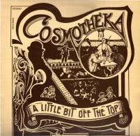* LP *  COSMOTHEKA (DAVE & AL SEALEY) - A LITTLE BIT OFF THE TOP (U.K. 1974 EX!!!) - Humor, Cabaret