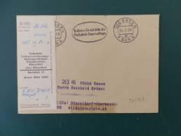 30/183     LETTRE   1959 - [7] Federal Republic