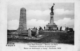 51 Valmy, Statue De Kellermann, Pentecote 1908 , Club Alpin Français, Section De Paris - Other Municipalities