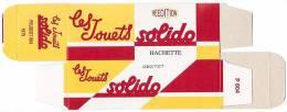 SOLIDO - BOITE VIDE  - PEUGEOT 604 - 1975. - Altre Collezioni