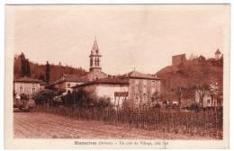 26-Hauterives- Un Coin Du Village, Côté Sud- 1948 - Hauterives