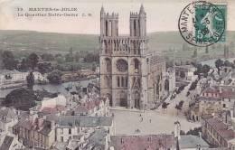 CPA - 78 - MANTES La JOLIE - Le Quartier Notre Dame - 15 - Mantes La Jolie