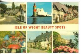 Inghilterra-isle Of Wight Beauty Spots - Inghilterra