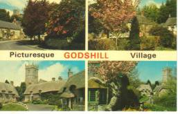 Inghilterra-godshill Village - Inghilterra